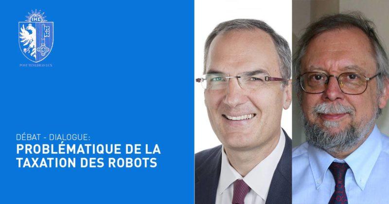 Problématique de la taxation des robots