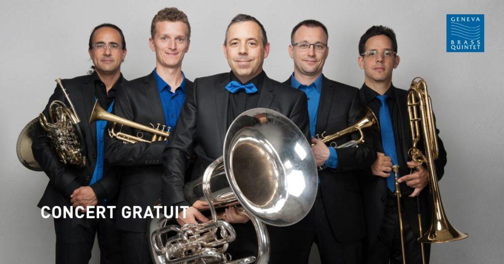 Concert: Geneva Brass Quintet