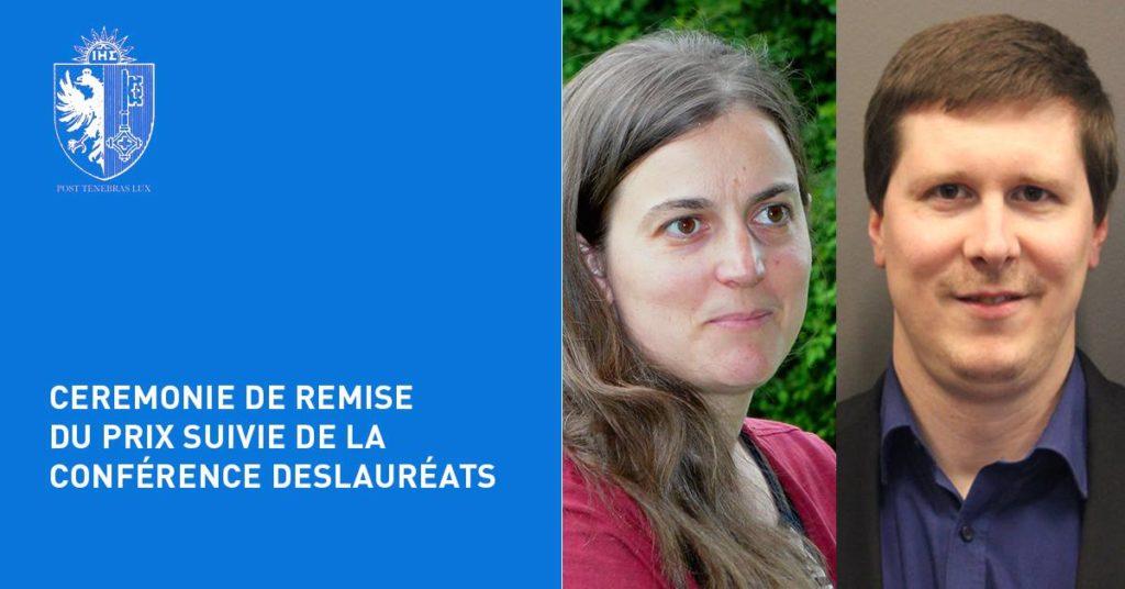 Remise du Prix d'Histoire INGE 2017 et conférence des lauréats