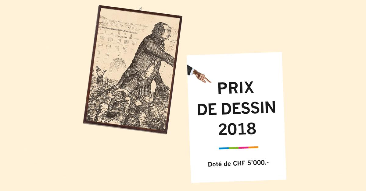 Cérémonie de remise du Prix de dessin 2018
