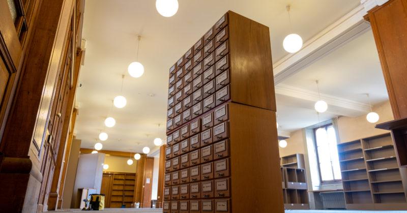 La Bibliothèque de Genève à l'ère de l'humain