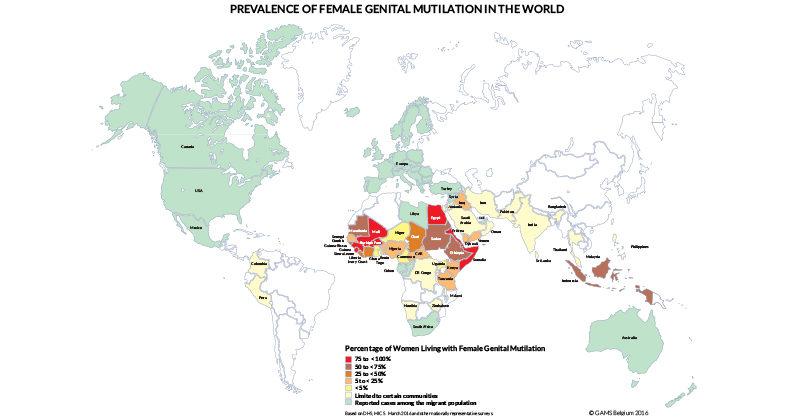 La promotion de santé des filles et des femmes qui ont vécu une excision