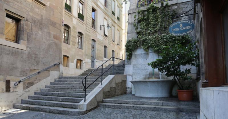 La diffusion de la culture italienne à Genève et le rôle de la Società Dante Alighieri